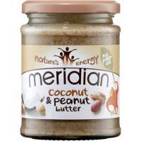 Meridian Foods maapähklivõi kookosega (280 g)