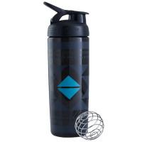 BlenderBottle SportMixer Signature Sleek šeiker/joogipudel, Diamond Native Black (820 ml)
