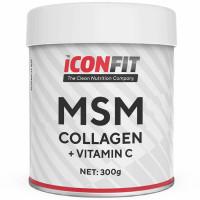 ICONFIT MSM Collagen + Vitamiin C, Jõhvika (300 g)