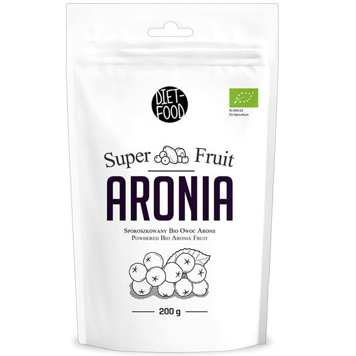 Diet Food Super Fruit Bio Aronia orgaaniline arooniapulber (200 g)
