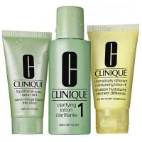 Clinique 3-Step Skin Care 1 komplekt kuivale ja väga kuivale nahale