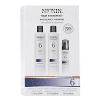 Nioxin 6 juuksehoolduskomplekt (150 ml + 150 ml + 40 ml)