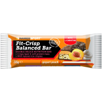 NamedSport Fit Crisp Balanced Bar valgubatoon, Yogurt-peach (38 g)