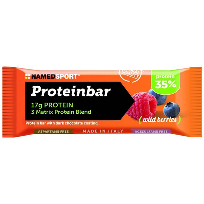 NamedSport Proteinbar 35% valgubatoon, Wild Berries (50 g)