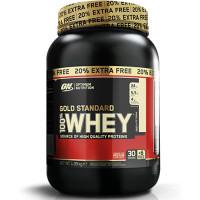 Optimum Nutrition Gold Standard 100% Whey valgupulber, Vanilla Ice Cream (908 g + 20%)