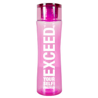 Prozis Exceed Slender Bottle joogipudel, Roosa (600 ml)