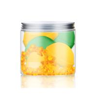Nacomi vannipallide komplekt, Apelsini-rohelise tee lõhnaline