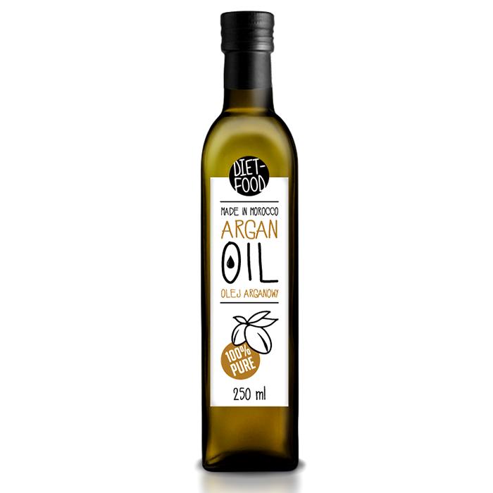Diet Food Bio Edible Argan Oil orgaaniline argaaniaõli (250 ml)