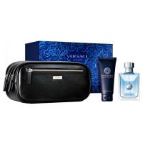 Versace Pour Homme Set EDT (100 ml) + SGE (100 ml) + Bag