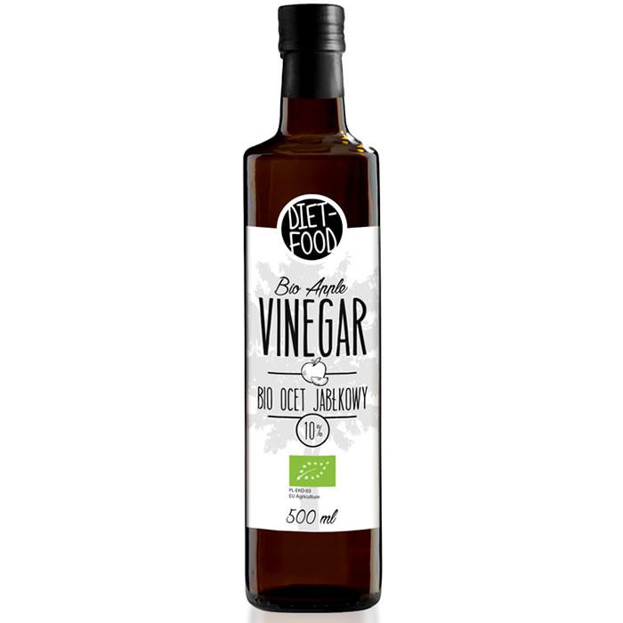 Diet Food Bio Apple Vinegar 10% õunaäädikas (500 ml). Parim enne 19.09.2019