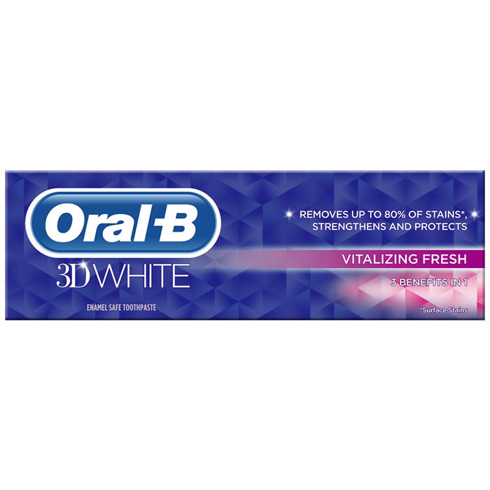 Oral-B 3D White Vitalizing Fresh hambapasta (75 ml)