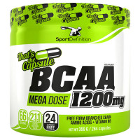 Sport Definition BCAA 1200mg That's the Capsule kapslid (264 tk). Parim enne 30.05.2019