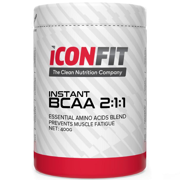 ICONFIT BCAA 2:1:1 Aminohapete Kompleks, Jõhvika (400 g)