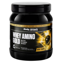 Body Attack Whey Amino Gold tabletid (325 tk)