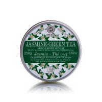 Saules Fabrika suhkru kehakoorija, Jasmine-Green Tea (250 g)