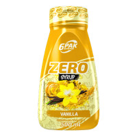 6PAK Syrup Zero siirup, Vanilje (500 ml)