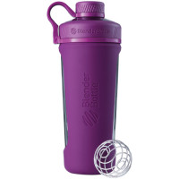BlenderBottle Radian Glass joogipudel, Plum (820 ml)