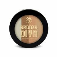 W7 Bronze Divas Bronzing Powder päikesepuuder, Beach Baby (14 g)