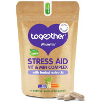 Together Health WholeVits™ Stress Aid Vitamin & Mineral kapslid (30 tk)
