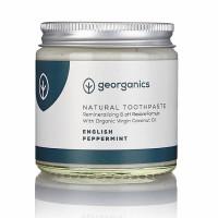 Georganics looduslik remineraliseeriv hambapasta kookosõli baasil, Metsiku inglise piparmündiga (60 ml)