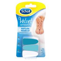 Scholl Velvet Smooth küüneviili asendusotsikud