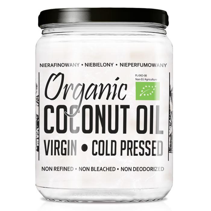 Diet Food Organic Coconut Oil Extra Virgin kookosõli (500 ml)