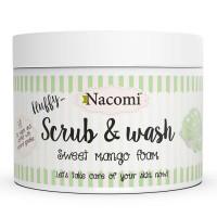 Nacomi Fluffy kooriv dušigeel, Mango (180 ml)