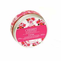 Saules Fabrika suhkru kehakoorija, Cherry (250 g)