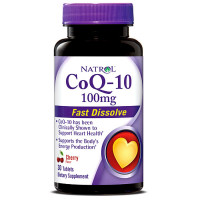 Natrol CoQ-10 100 mg närimistabletid (30 tk).Parim enne 04.2020