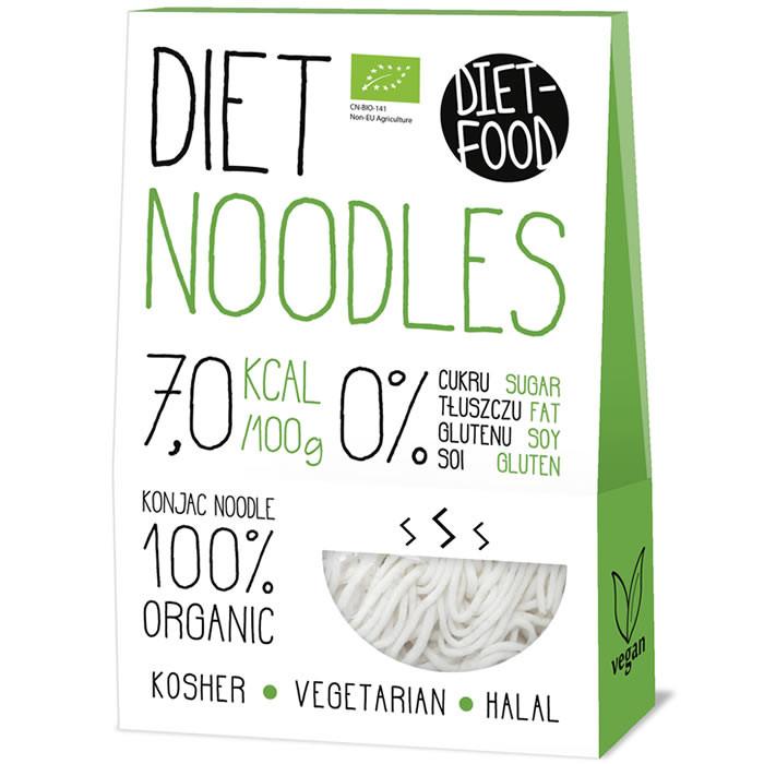 Diet Food Bio Organic Konjac Pasta Shirataki mahe nuudlid, Noodles (300 g)