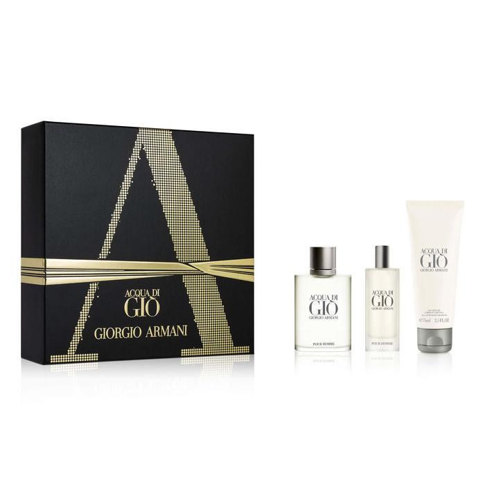 Giorgio Armani Acqua di Gio Set EDT (100 ml) + EDT (15 ml) + SGE (75 ml)
