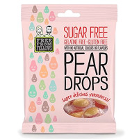 Free From Fellows suhkru-ja želatiinivabad kommid, Pear Drops (70 g)