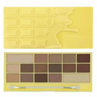 Makeup Revolution I Heart Makeup lauvärvipalett, Naked Chocolate (22 g)