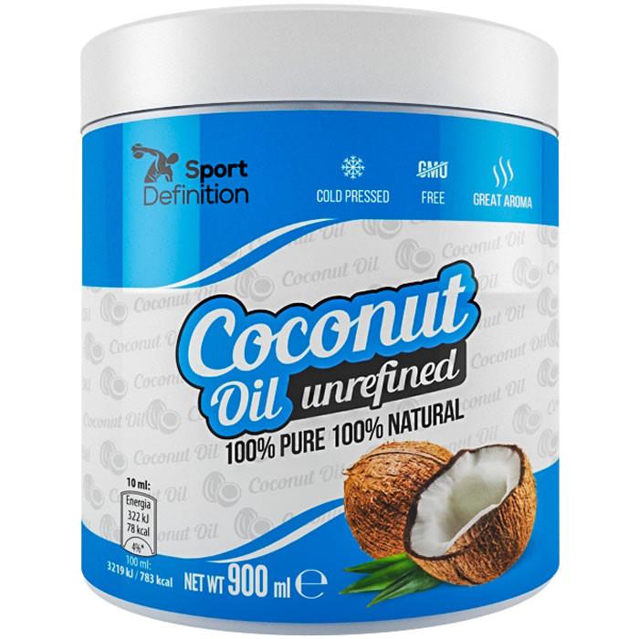 Sport Definition Coconut Oil kookosõli, Rafineerimata (900 ml). Parim enne 30.05.2019