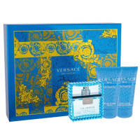 Versace Man Eau Fraiche Set EDT (50 ml) + SGE (50 ml) + ASB (50 ml)