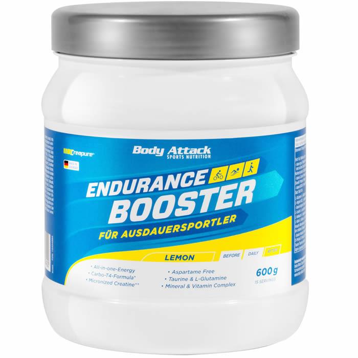 Body Attack Endurance Booster, Sidruni (600 g). Parim enne 30.07.2019