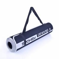 Spokey Flexmat V võimlemismatt, Must (0.6 cm)