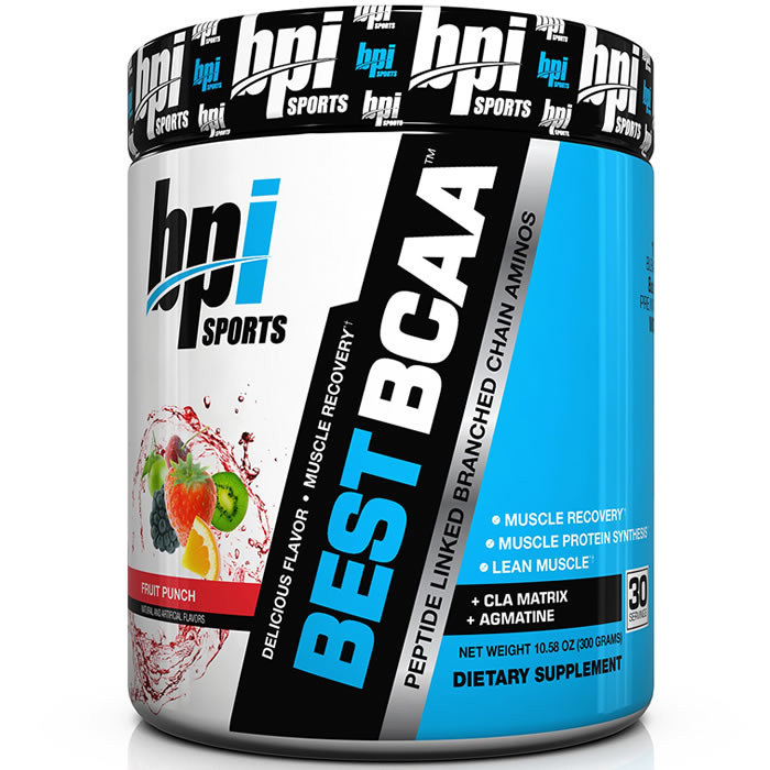BPI Sports Best BCAA, Fruit Punch (300 g). Parim enne 01.10.2019