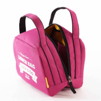 Lunch Bag ZIP termokott, Fuksia