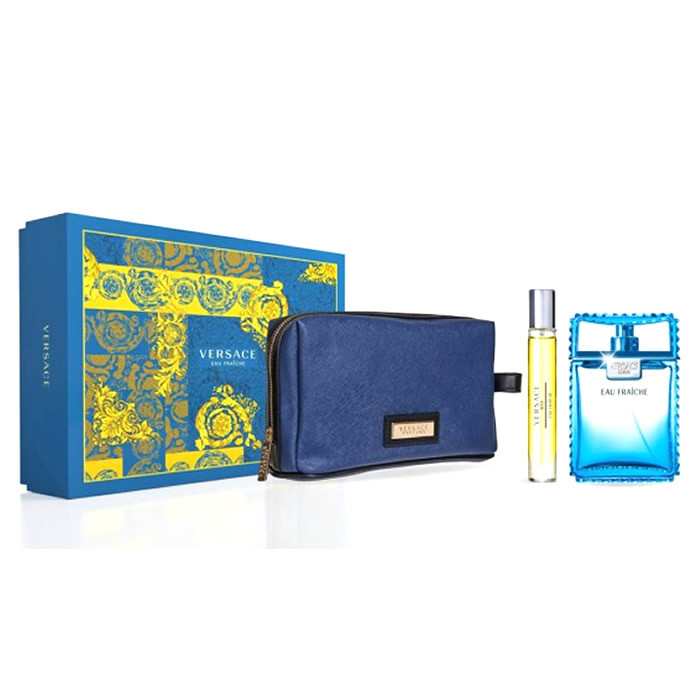 Versace Man Eau Fraiche Set EDT (100 ml) + EDT (10 ml) + Bag