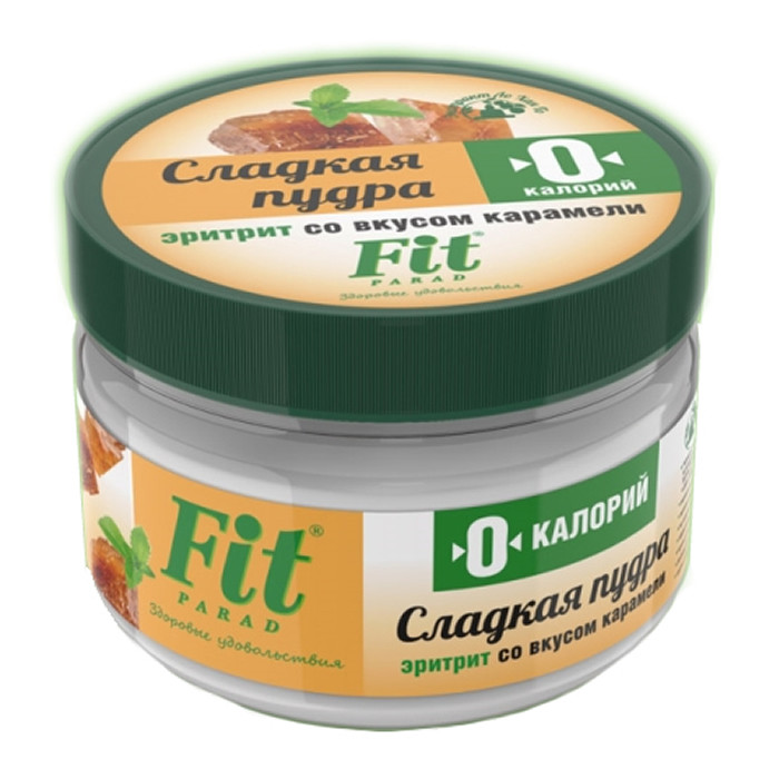 FitParad magus pulber erütritooli baasil, Karamelli (160 g)