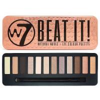W7 Beat It! Natural Nudes lauvärvipalett (15.6 g)
