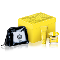 Versace Yellow Diamond Set EDT (90 ml) + BLO (100 ml) + Bag