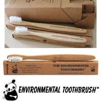 Environmental Toothbrush bambusest hambahari, Soft
