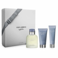 Dolce & Gabbana Light Blue Pour Homme Set EDT (125 ml) + SGE (50 ml) + ABS (75 ml)