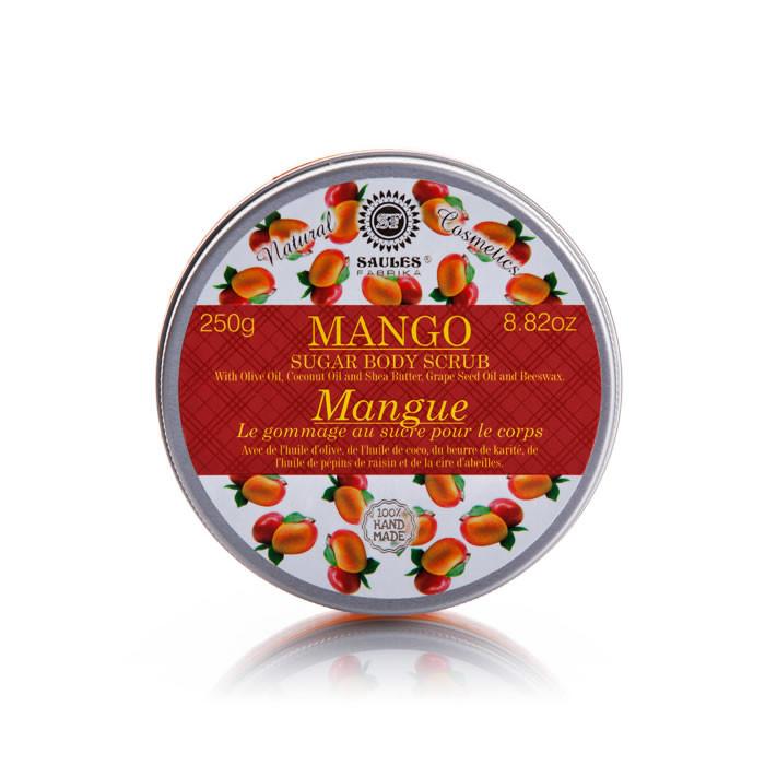 Saules Fabrika suhkru kehakoorija, Mango (250 g)