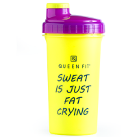 Olimp Queen Fit šeiker Sweat is Just Fat Crying (700 ml)
