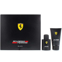 Ferrari Scuderia Ferrari Black Set (EDT 75 ml + 150 ml SGE)