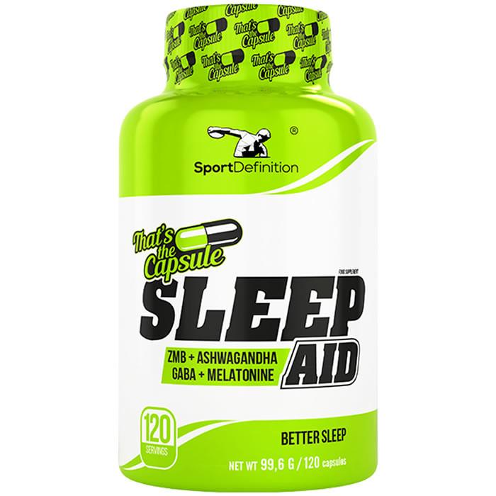 Sport Definition Sleep Aid kapslid (120 tk)