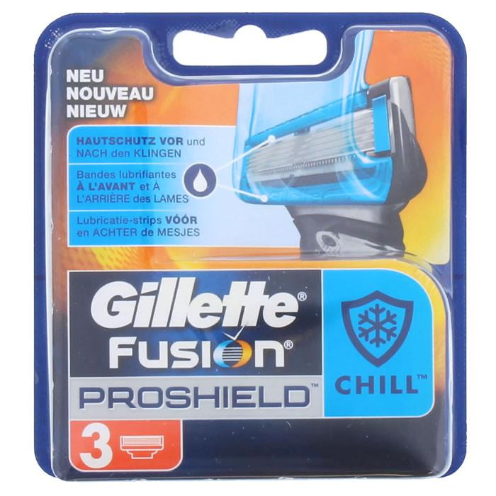 Gillette Fusion Proshield Chill lisaterad (3 tk)